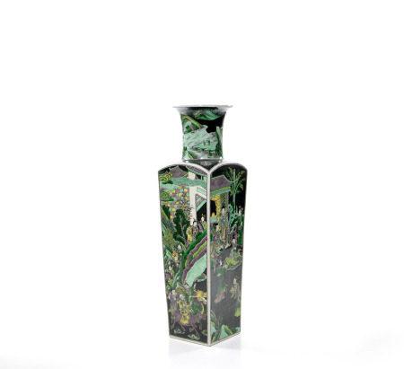 A Rare Chinese Famille Verte Vase
