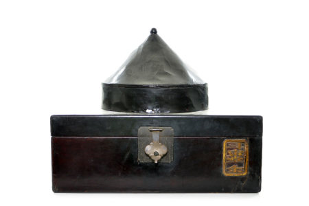 A Chinese Hat and Robe Suite Case