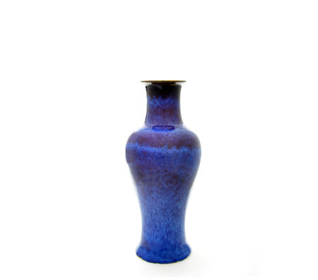 A Chinese Flambe Glaze Vase