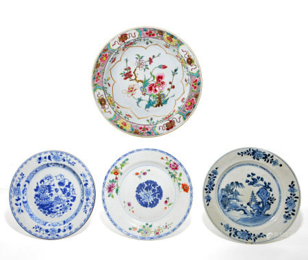 Group of Chinese Plates