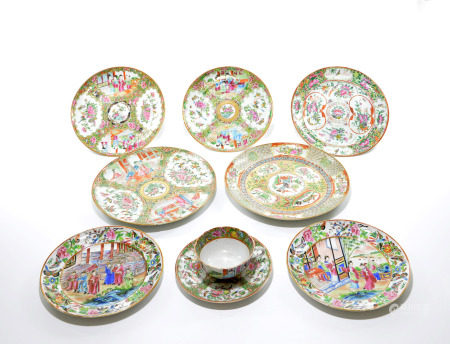 Group of Chinese Porcelain Sets