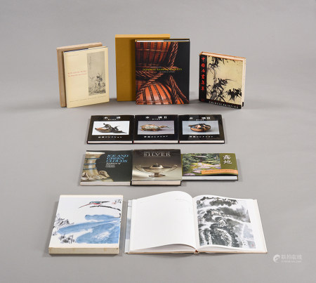 《JAPANESE BAMBOO BASKETS》《中國名畫集萃》等 共十冊