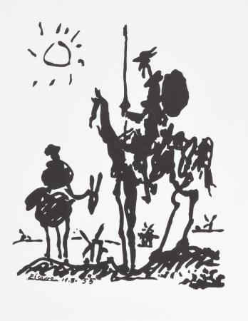畢加索 唐吉坷德 版畫