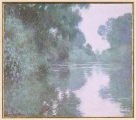 克勞德·莫奈 塞納河的早晨 版畫