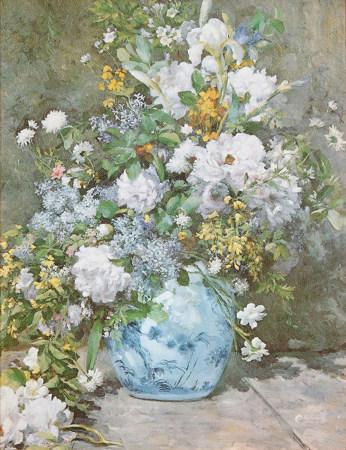 佚名 花卉 油畫海報