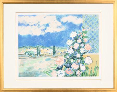 Gilles Gorriti吉勒斯·戈里蒂 普羅旺斯玫瑰園 版畫