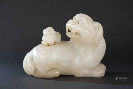 An alabaster figure, China, 1900s, An alabaster figure, China, 1900s