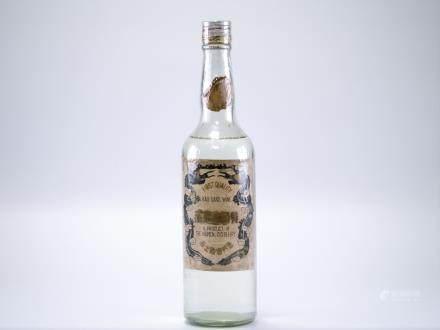 民國64年 金門酒廠特級高粱酒(白金龍)