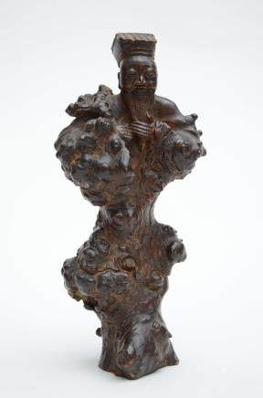 Chinese rootwood sculpture (26cm)
