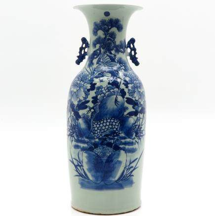 China Porcelain Celadon Vase