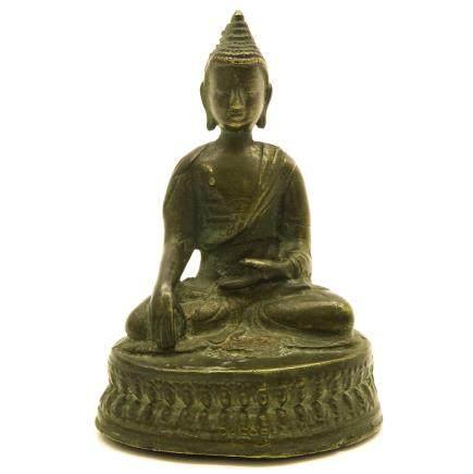 Bronze Chinese Buddha Sculpture