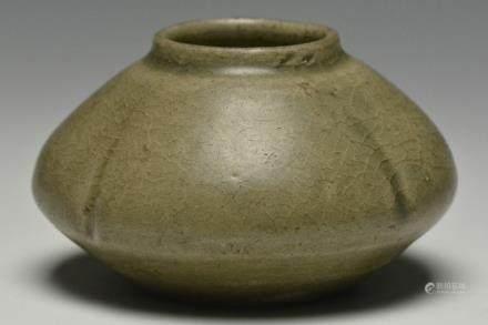 A Celadon-Glazed Waterpot, Western Jin Dynasty