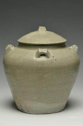 A Jar and Cover, Western Jin Dynasty