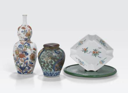 A group of four Japanese ceramics 18th century and later