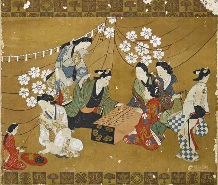 Anonymous (17th/18th century) Kanbun beauties