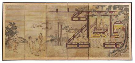 Anonymous, Unkoku school (17th/18th century) Literary Gathering