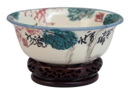 郑善禧彩绘瓷碗
