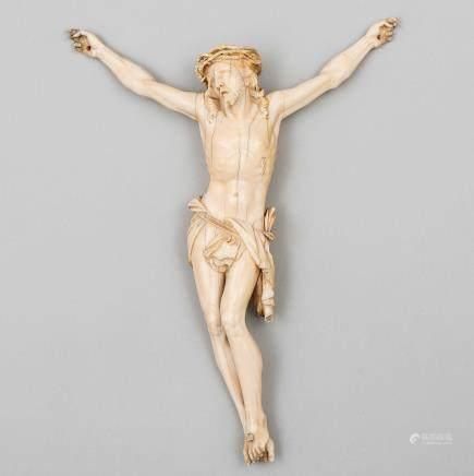 """Cristo Moribundo"" Escuela Francesa, Siglo XIX"