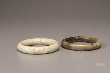 Two Jade bangles