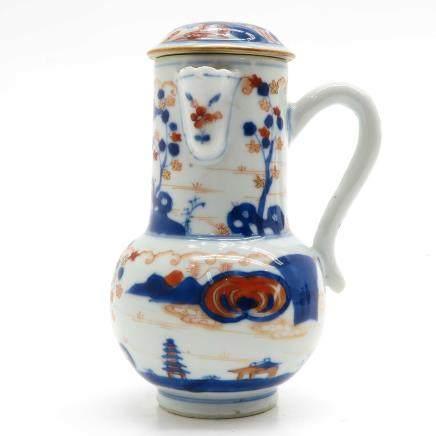 China Porcelain Imari Decor Pitcher