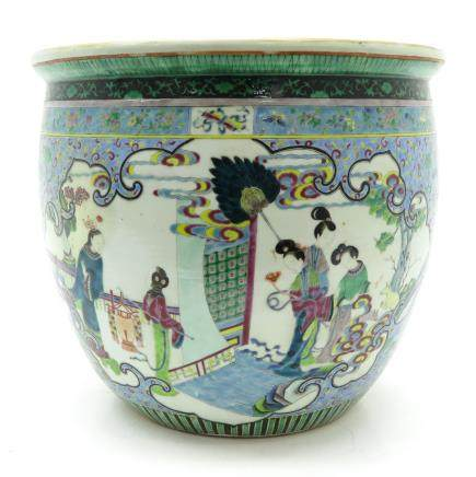 China Porcelain Fish Bowl