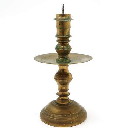 Copper Indonesian Candle Stick