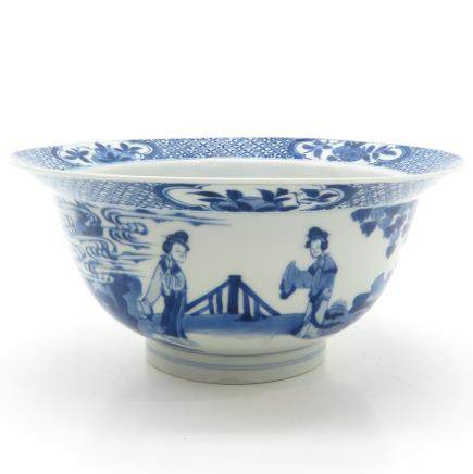18th Century China Porcelain Kangxi Period Bowl