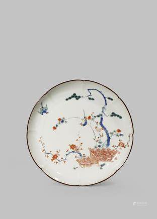 A JAPANESE KAKIEMON PLATE
