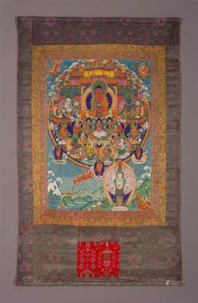 A thangka of Amitayus