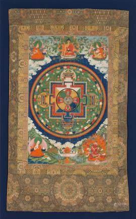 A mandala of Avalokiteshvara