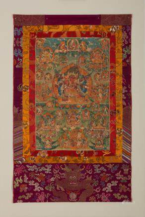 A thangka of Chemchok Heruka