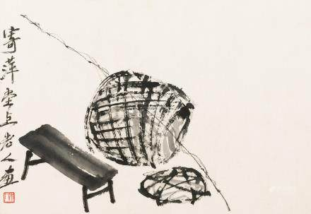 Qi Baishi (1864-1957) Fishing Tools