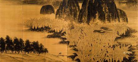 Qi Baishi (1864-1957) Plantain Forest