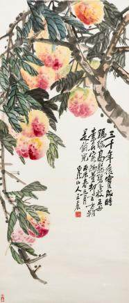 Wang Zhen (1867-1938) Longevity Peaches
