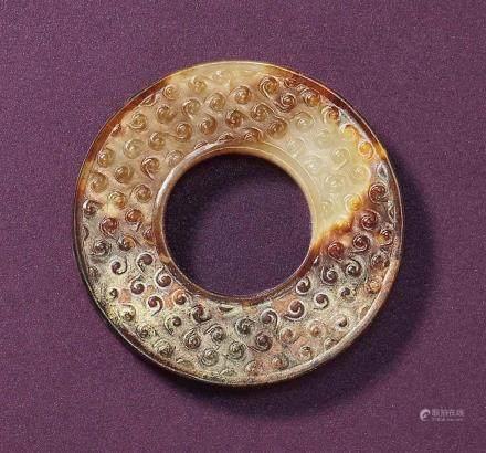 宋 褐玉環