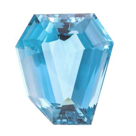 189.74 ct 藍色托帕石裸石