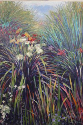"""GREG SINGLEY, Title """"Lily Song - A"""" Limited edition"""