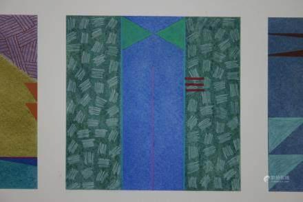 """JAN RICHARDSON BAUGHMAN, Title """"Three Times"""" Original"""