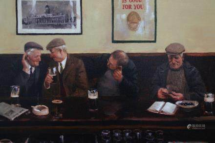 """MARTIN DRISCOLL, Title """"He Said What?"""" Limited edition"""