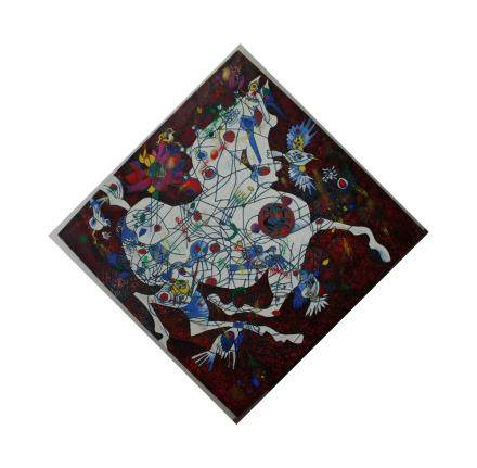 """JIANG TEI FENG, Title """"The White Horse"""" Limited edition"""