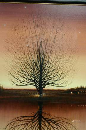 "MARIO JUNG, Title "" Reflection Glows from Within"""