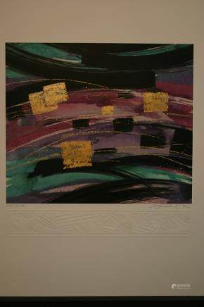 """STEVE STRICKLAND, Title """"Cararra II"""" Limited edition"""
