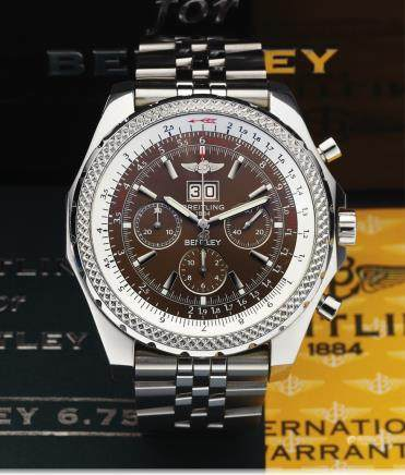 Breitling For Bentley Ref. A44362 百年灵宾利系列腕表(BREITLING for BENTLEY)型号: A44362
