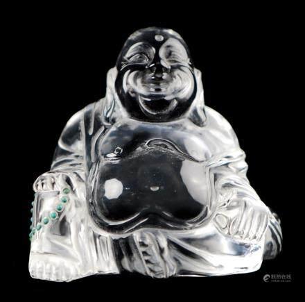水晶彌勒坐像