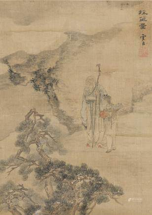 GU JIANLONG (ATTRIBUTED TO,1606-1687), FIGURE