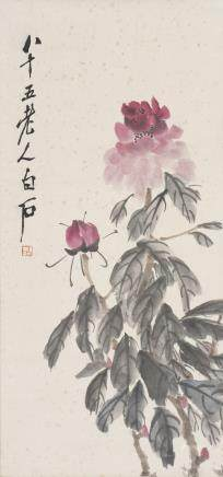 QI BAISHI (ATTRIBUTED TO, 1863-1957), FLOWER
