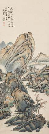 WU HUFAN (ATTRIBUTED TO, 1894-1968), LANDSCAPE