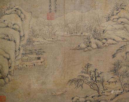 Style of Wen Jia (1501-1583), China, ca