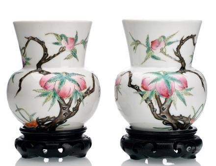 TWO 'ZHADOU' SPITTOONS