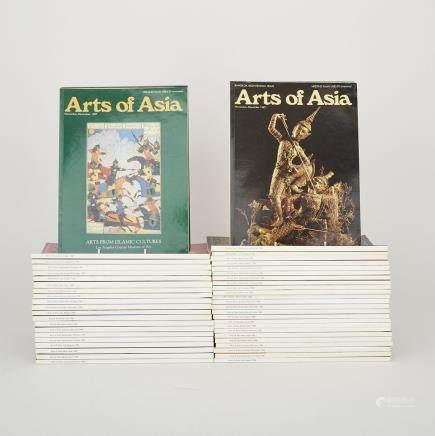 A Group of Fifty-Three Arts of Asia Magazines (1982-1989) (53 Pieces)
